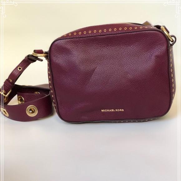 5e127d1862 Michael Kors Brooklyn Large Camera Bag